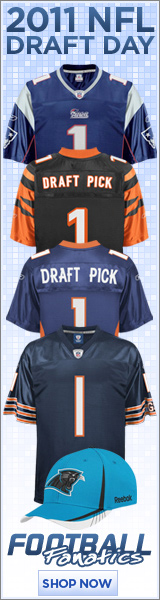 Buy 2011 NFL Draft Gear!
